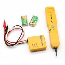 UK SALE CABLE FINDER TONE GENERATOR PROBE TRACKER WIRE NETWORK TESTER TRACER KIT