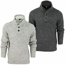 Maglioni e cardigan da uomo in lana, con colletto a camino taglia XL