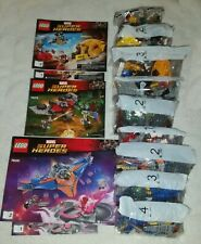 LEGO LOT - Marvel Super Heroes - Guardians of the Galaxy Vol. 2 - 76081, 76080