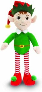 Keel Toys DANGLY Green ELF Soft Toy Plush