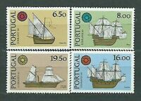Portugal - Mail 1980 Yvert 1482/5 MNH Boats