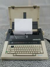BROTHERS COMPACTRONIC 310 TYPEWRITER  EXCELLENT CONDITION W/COVER