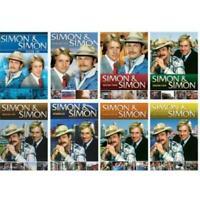 Simon & Simon TV Series Complete Season 1-8 Final (1 2 3 4 5 6 7 8) DVD SET NEW