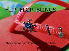 Rainbow Flip Flop Sandal Bling Accessory