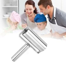 Rolling Pin Pastry Pizza Fondant Bakers Steel Kitchen Roller Metal Stainless