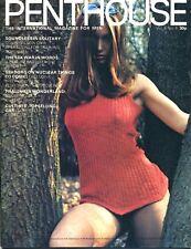 Penthouse Magazine April 1971 Volume 6 Number 4 Corvette Stingray Edition