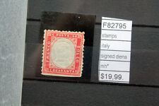 STAMPS ITALY SIGNED DIENA MH* (F82795)