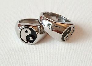 Silver Yin Ying Yang Ring 90s N Medium Other Bloggers Stories