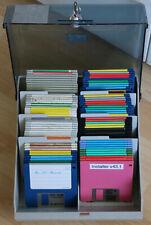 """ca.80 DD/HD Disketten 3,5"""" - mit BOX, nicht Formatiert, Amiga 500-A4000 #20"""