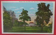 VTG POSTCARD-CAMPUS VIEW FROM BLAKE HALL-UNIVERSITY OF KANSAS-LAWRENCE KS