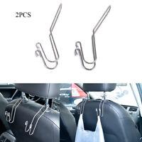 Metal Car Seat Holder Coat Clothes Hook Back Purse Bag Hanging Hanger Organizer