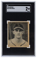 Stan Musial 1948 Bowman #36 St. Louis Cardinals Baseball Card SGC GD 2