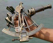 "Nautical Marine Navigational Astrolabe Instrument Brass Sextant 8"" Antique Gift"