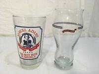 Samuel Adams Lager Ale Pilsner Clear Highball Bar Beer Cups Set Pint Glasses