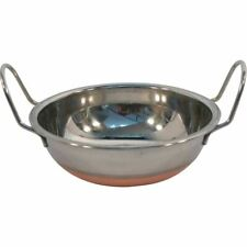 Indian Curry Dishes Food Balti Dish Karai Kadai Copper Bottom Serving Table Bowl