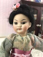 "8"" Simon & Halbig 1129 Oriental German Antique Doll Bisque Head Composition Body"