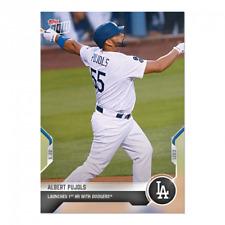 Albert Pujols - 2021 MLB TOPPS NOW Card 241 1st career home run LA Dodgers