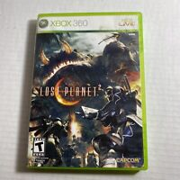 Lost Planet 2 (Microsoft Xbox 360, 2010) Video Game Free Ship Good Condition