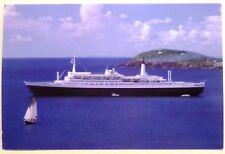 tss Rotterdam . Holland America Line HAL Dutch Liner Ship Transportation Vessel