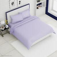 Homesmart Lilac Embroidered Microfiber 6 pcs Bedding Pillowcase Sheet Set -King