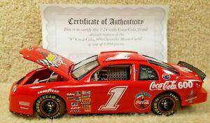 New 1997 Revell 1:24 Diecast NASCAR Coca Cola Coke 600 Chevy Monte Carlo #1