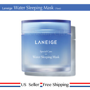 Laneige Water Sleeping Mask 70ml Moisture Hydrate + Free Sample [ US Seller ]