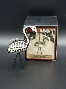 Horror Ornaments Skelemingo Flamingo Collectible