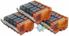 15 Compatible Canon PGI-520/CLI-521 or PGI-220/CLI-221 Ink Cartridges