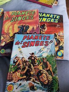 Bd Lot Planète Des Singes  1977 N 1. 2 et 4