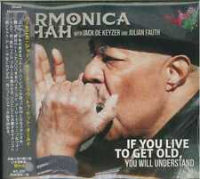 HARMONICA SHAH-IF YOU LIVE TO GET OLD YOU WILL UNDERSTAND-Import CD with OBI F30
