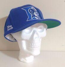 VTG Duke Blue Devils Block Head Snapback Hat by American Needle NEW