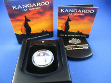 2012 RAM - $1 KANGAROO AT SUNSET SILVER PROOF COIN - COMPLETE!!!