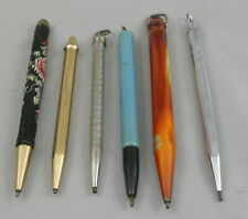 6 Vintage Mini 1.1mm Mechanical Pencils - c. 1920's-50's - USA, Germany, Japan