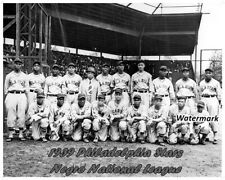 1939 Philadelphia Stars of the National Negro League Team Picture 8 X 10 Photo