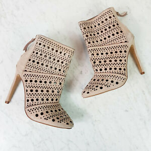 [ WITCHERY Limited Edition ] Womens Laser cut Ankle Boots RRP$399 | Size EUR 38