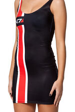 Sexy Mass Effect N7 Galaxy Women Mini Dress Summer Cosplay Dress