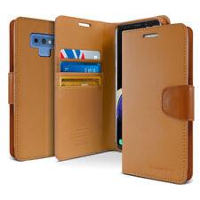 For Samsung Galaxy S9 Note 9 Case Slim Leather Wallet Kickstand Card Holder Flip
