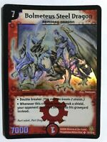 Duel Masters DM06 Bolmeteus Steel Dragon Stomp-A-Trons of Invincible Wrath WOTC