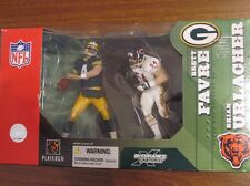 BRETT FAVRE GREEN BAY PACKERS BRIAN URLACHER CHICAGO BEARS NFL MCFARLANE FIGURES