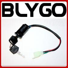 4 Wire Ignition Key Barrel Switch 50cc 110cc 125cc 250cc PIT Quad Dirt Bike ATV
