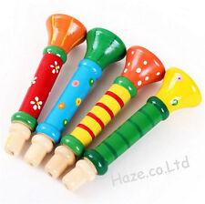 De madera Niños Altavoz Trompeta Musical Instrumento Educativo Juguetes 1 PC