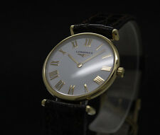 New Old Stock Ladies LONGINES LA GRANDE CLASSIQUE quartz watch L4 135 2 NOS