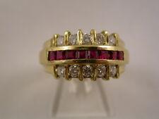 wunderschöner Rubin Brillantring Gold 750er 18K