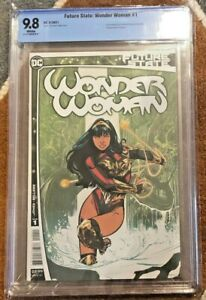 FUTURE STATE WONDER WOMAN #1 CBCS 9.8 = CGC 9.8 IN HAND Gem SAME DAY SHIP !