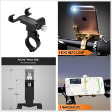 "Motorcycle Handlebar Phone Bracket Aluminum Mount Holder For 4.0-6.2"" Smartphone"