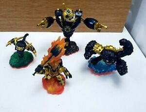 Skylanders Giants Legendary Bundle x 4 Bouncer/ Ignitor/ Slam Bam/ Stealth Elf