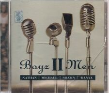 CD ALBUM--BOYZ II MEN--NATHAN/MICHAEL/SHAWN/WANYA--2000