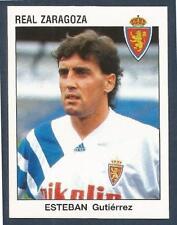 PANINI FUTBOL 93-94 SPANISH -#351-REAL ZARAGOZA-ESTEBAN GUTIERREZ