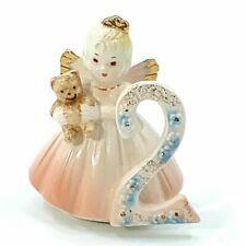 Josef Originals Birthday Angel Girl Age 2 Year Old Vintage Figurine Cake Topper