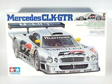 Tamiya 1/24th Mercedes CLK-GTR Model Kit Open Box Sealed Parts NIOB
